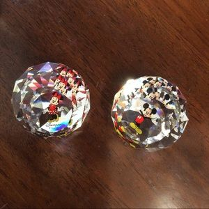 Minnie or Mickey Mouse Swarovski Domes